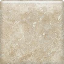 Daltile Heathland White Rock 6 in. x 6 in. Glazed Ceramic Bullnose Wall Tile