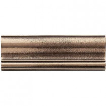 Weybridge 2 in. x 6 in. Cast Metal Ogee Classic Bronze Tile (10 pieces / case) - Discontinued