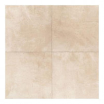Daltile Concrete Connection Boulevard Beige 20 in. x 20 in. Porcelain Floor and Wall Tile (16.27 sq. ft. / case)