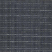 Elementz 12.8 in. x 12.8 in. Venice Storm Glossy Glass Tile-DISCONTINUED