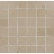 MS International Beton Khaki 12 in. x 12 in. x 10 mm Porcelain Mesh-mounted Mosaic Tile