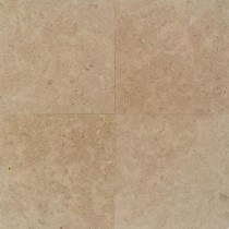 Daltile Natural Stone Ashwan Mocha 12 in. x 12 in. Polished Marble Floor and Wall Tile(10 sq. ft. / case)-DISCONTINUED