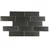 Splashback Tile Stainless Steel 2 in. x 6 in. Stainless Steel Floor and Wall Tile