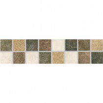 ELIANE Mt. Everest L-1200 3 in. x 12 in. Glazed Porcelain Listello Floor and Wall Tile