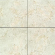 Daltile Brancacci Aria Ivory 12 in. x 12 in. Ceramic Floor and Wall Tile (11 sq. ft. / case)