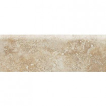 Daltile Heathland Raffia 2 in. x 6 in. Glazed Ceramic Bullnose Wall Tile