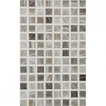 PORCELANOSA Eidos 12 in. x 8 in. Grafito Ceramic Tablet Mosaic Wall Tile