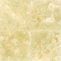 MS International Ivory 6 in. x 6 in. Honed Travertine Floor and Wall Tile (1 sq. ft. / case)