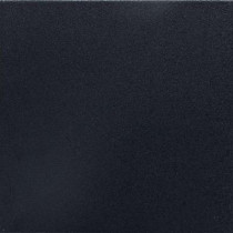 Daltile Colour Scheme Black Solid 6 in. x 6 in. Porcelain Bullnose Trim Floor and Wall Tile-DISCONTINUED