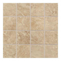 Daltile Continental Slate Egyptian Beige 12 in. x 24 in. x 6mm Porcelain Mosaic Floor and Wall Tile(22 sq.ft./case)-DISCONTINUED