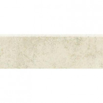 Daltile Briton Bone 3 in. x 12 in. Bullnose Floor and Wall Tile