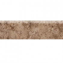 Daltile Heathland Edgewood 3 in. x 12 in. Glazed Ceramic Bullnose Floor and Wall Tile