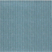 Elementz 12.8 in. x 12.8 in. Venice Aqua Glossy Glass Tile-DISCONTINUED