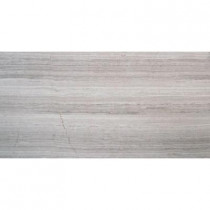 MS International White Oak 12 in. x 24 in. Polished Limestone Floor and Wall Tile (10 sq. ft. / case)