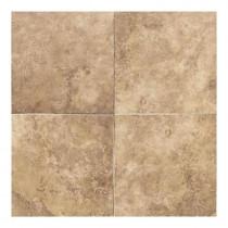 Daltile Salerno Marrone Chiaro 18 in. x 18 in. Glazed Ceramic Floor and Wall Tile (18 sq. ft. / case)