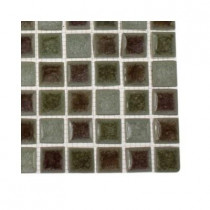 Splashback Tile Roman Selection Quattro Sotto Glass Floor and Wall Tile - 6 in. x 6 in. x 8 mm Floor and Wall Tile Sample