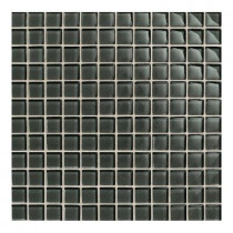 Daltile Maracas Evergreen 12 in. x 12 in. 8mmGlass Mesh-Mounted Mosaic Wall Tile (10 sq. ft. / case)-DISCONTINUED