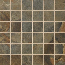 MARAZZI Jade 13 in. x 13 in. x 8-1/2 mm Sage Porcelain Mesh-Mounted Mosaic Floor and Wall Tile