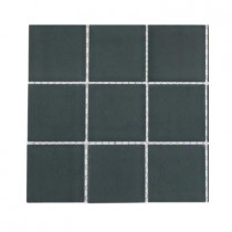 Splashback Tile Contempo Blue Gray Frosted Glass Tile Sample