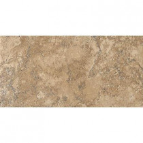 MARAZZI Artea Stone 6-1/2 in. x 13 in. Cappuccino Porcelain Floor and Wall Tile (9.46 sq. ft./case)