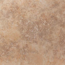 U.S. Ceramic Tile Tuscany Desert 18 in. x 18 in. Glazed Porcelain Floor & Wall Tile-DISCONTINUED