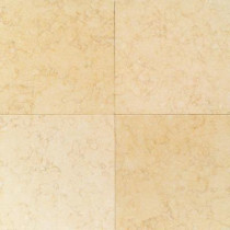 Daltile Natural Stone Collection Tiberias Gold 12 in. x 12 in. Polished Marble Floor/Wall Tile (10 sq. ft. / case)-DISCONTINUED