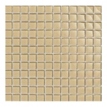 Daltile Maracas Morning Sun 12 in. x 12 in. 8mm Glass Mesh Mounted Mosaic Tile