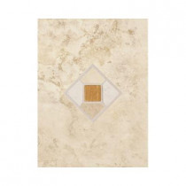 Daltile Brancacci Windrift Beige 9 in. x 12 in. Ceramic Accent Wall Tile-DISCONTINUED