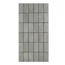 U.S. Ceramic Tile Avila 12 in. x 24 in. Gris Porcelain Mosaic Tile-DISCONTINUED
