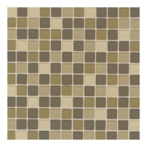 Daltile Maracas Lake Shores Blend 12 in. x 12 in. 8mm Frosted Glass Mesh Mount Mosaic Wall Tile (10 sq. ft. / case)-DISCONTINUED