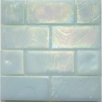Studio E Edgewater Abalone Glass Mosaic & Wall Tile - 5 in. x 5 in. Tile Sample-DISCONTINUED