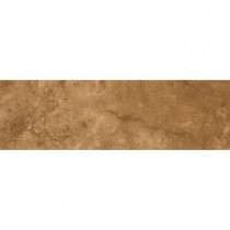 Emser 3 in. x 13 in. Seville Cartuja Glazed Porcelain Single Bullnose -Each-DISCONTINUED
