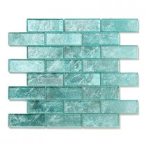 Solistone Folia Juniper 12 in. x 12 in. x 6.35mm Glass Mesh-Mounted Mosaic Wall Tile (10 sq. ft./case)
