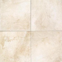 Daltile Portenza Bianco Ghiaccio 17 in. x 17 in. Glazed Porcelain Floor and Wall Tile (13.23 sq. ft. / case) - DISCONTINUED