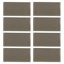 Jeffrey Court Fieldstone Gloss 3 in. x 6 in. Glass Wall Tile (8 pieces/1 sq. ft./1 pack)