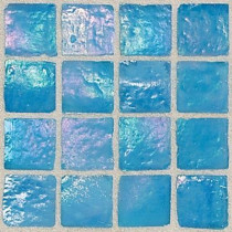 Daltile Egyptian Glass Caspian 12 in. x 12 in. x 6 mm Glass Face-Mounted Mosaic Wall Tile