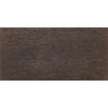 MARAZZI Riflessi Di Legno 23-7/16 in. x 11-11/16 in. Ebony Porcelain Floor and Wall Tile (9.51 sq. ft. / case)