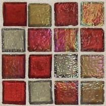 Daltile Egyptian Glass Garnet Gallery 12 in. x 12 in. x 6 mm Glass Face-Mounted Mosaic Wall Tile