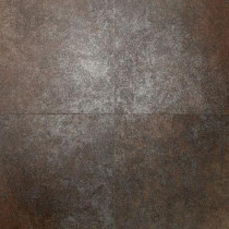 Daltile Metal Effects Shimmering Copper 13 in. x 13 in. Porcelain Floor and Wall Tile (15.24 sq. ft. / case)-DISCONTINUED