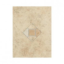 Daltile Brixton Sand 9 in. x 12 in. Ceramic Decorative Accent Wall Tile - DISCONTINUED