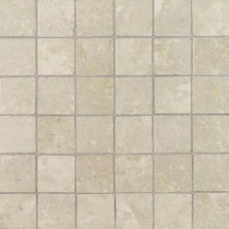 Daltile Pietre Vecchie Antique Ivory 12 in. x 12 in. x 8mm Porcelain Sheet Mounted Mosaic Floor/Wall Tile (14.33 sq. ft. / case)