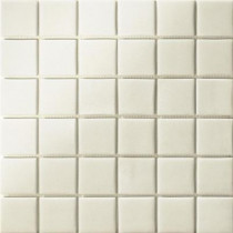 Elementz 12.5 in. x 12.5 in. Capri Bianco Grip Glass Tile-DISCONTINUED