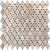 MS International Colisseum Rhomboid 12 in. x 12 in. x 10 mm Tumbled Travertine Mesh-Mounted Mosaic Tile (10 sq. ft. / case)