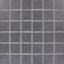 MS International Beton Graphite 12 in. x 12 in. x 10 mm Porcelain Mesh-mounted Mosaic Tile