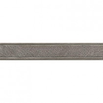 MARAZZI Montagna Gray 2 in. x 12 in. Metal Resin Floor and Wall Tile