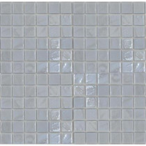 EPOCH Gemstonez Chalcedony-1301 Mosaic Recycled Glass 12 in. x 12 in. Mesh Mounted Floor & Wall Tile (5 sq. ft.)