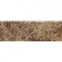 Daltile Heathland Edgewood 2 in. x 6 in. Glazed Ceramic Bullnose Wall Tile