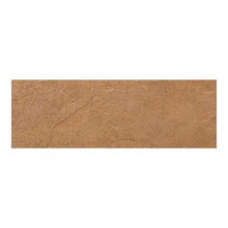 Daltile Cliff Pointe Redwood 3 in. x 12 in. Porcelain Bullnose Floor and Wall Tile