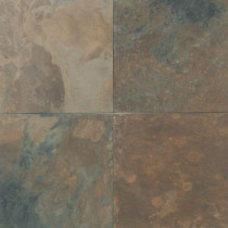 Daltile Natural Stone Collection California Gold 16 in. x 16 in. Slate Floor and Wall Tile (10.68 sq. ft. / case)