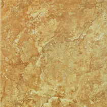 U.S. Ceramic Tile Fresno Ocre 16 in. x 16 in. Ceramic Floor & Wall Tile-14.22 Sq.ft. Per Case-DISCONTINUED
